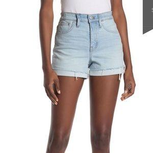 5⭐️ Madewell Raw Shorts NWOT